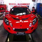Lotus 111R Wheel Alignment