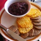 """""""Paleo"""" Almond Meal and Parmesan Crackers"""