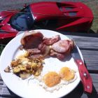 Double bacon and egg day