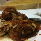 Mega Cheese-Filled Meatballs [VIDEO]